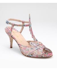 Max Kibardin - Glittery Lace Dragonfly Sandals - Lyst