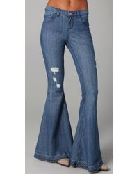 Pray For Mother Nature - Ring My Bell Flare Jeans - Lyst