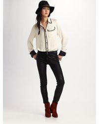 Rag & Bone French Cuff Shirt - Lyst