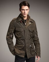 Ralph Lauren Black Label - Escape Jacket W/tabard - Lyst