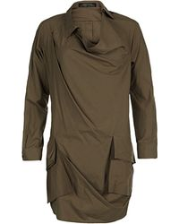 AllSaints Kika Shirt Dress - Lyst