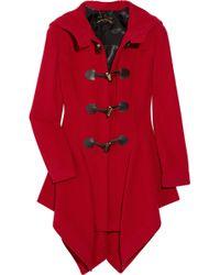 Vivienne Westwood Anglomania Just-au-corps Wool-blend Duffel Coat - Lyst