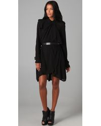 L.A.M.B. - Belted Trench Dress - Lyst