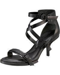 Alexander Wang Maddie Leather Sandal - Lyst