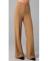L.A.M.B. High Waist Wide Leg Pants - Lyst