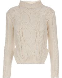 Carven Knitted Jumper - Lyst