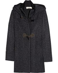 Vanessa Bruno Athé - Wool-blend Hooded Duffel Coat - Lyst