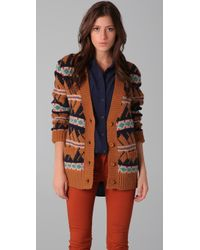 Le Mont St Michel - Knit Cardigan Jacket - Lyst
