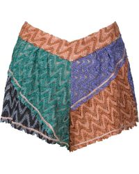 Missoni Tamigi Lurex Shorts multicolor - Lyst