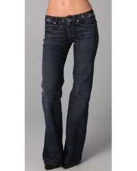 7 For All Mankind Dojo Jeans - Lyst