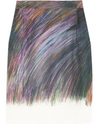 Clements Ribeiro | Candy Silk Skirt | Lyst