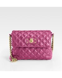 Marc Jacobs Quilting The Large Single Leather Bag - Lyst