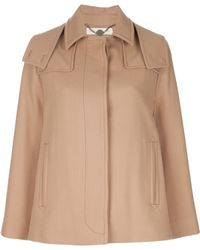 Stella McCartney Wool Cape - Lyst