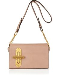 Vionnet Leather Shoulder Bag - Lyst