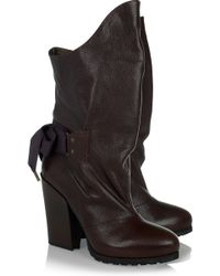 Vanessa Bruno Leather Boots