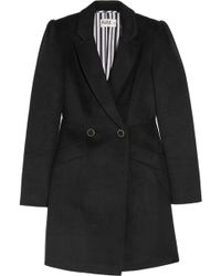Alice By Temperley - Cecilia Double-breasted Wool-blend Coat - Lyst