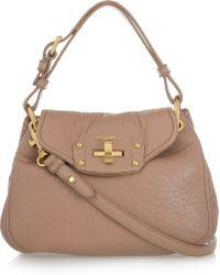 Miu Miu Nappa Leather Shoulder Bag - Lyst
