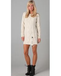 Pencey - Sweater Dress - Lyst