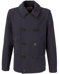 Joules - Shelford Jacket Marine Blue - Lyst