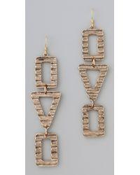 Belle Noel Egyptian Wave Earrings - Lyst