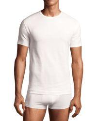 Calvin Klein Stretch Cotton Crewneck Tshirt 2pack - Lyst