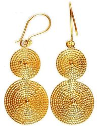 Chic Jewel Couture Rodas Earrings - Lyst