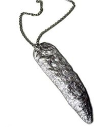 Chic Jewel Couture Silver Age Pendant and Chain - Lyst