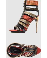 Diego Dolcini High Heeled Sandals - Lyst