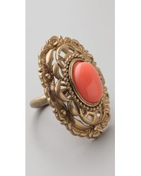 Juicy Couture - Antique Openwork Ring - Lyst