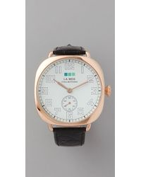 La Mer Collections Vintage Oversized Watch - Lyst