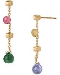 Marco Bicego 'Paradise' Drop Earrings - Multi - Lyst