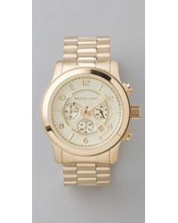 Michael Kors Mens Oversized Watch - Lyst