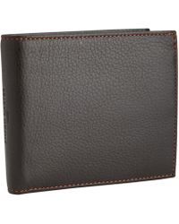 Simon Carter - Black Leather Wallet - Lyst