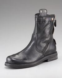 True Religion | Zora Diagonal-zip Boot | Lyst