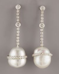 Assael - Baroque Diamond Earrings - Lyst