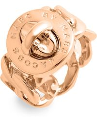 Marc By Marc Jacobs Turnlock - Katie Ring - Lyst