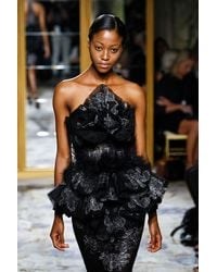 Marchesa Spring 2012 Embellished Bodice Dress  - Lyst