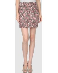Pepe Jeans Mini Skirts - Lyst