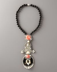 Ranjana Khan - Flamingo Pendant Necklace - Lyst
