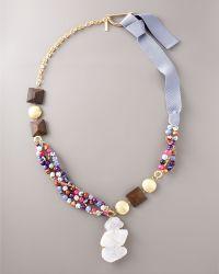 Sachin & Babi - Multicolor Agate Necklace - Lyst