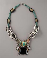 Sachin & Babi - Vernazza Snakeskin Necklace - Lyst