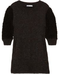 See By Chloé Contrast-knit Sweater - Lyst
