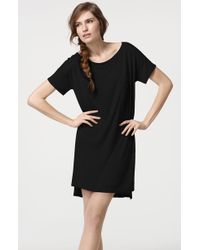 T By Alexander Wang Jersey Dress - Lyst