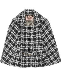 Juicy Couture - Woven Wool-blend Cape - Lyst