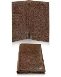 A.Testoni - Caribou Leather Organizer Coat Wallet - Lyst