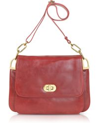 Badgley Mischka - Coralie Shine - Leather Shoulder Bag - Lyst