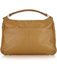 Buti Pebbled Calf Leather Hobo Bag - Lyst