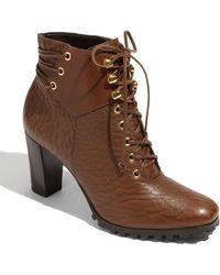 Diane von Furstenberg Goldie Ankle Boot - Lyst