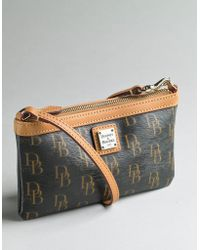 Dooney & Bourke - Signature Large Slim Wristlet - Lyst