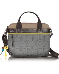 Fossil - Key Per - Quilted Laptop Tote - Lyst